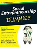img - for Social Entrepreneurship For Dummies book / textbook / text book