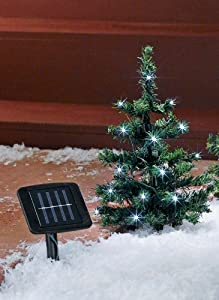 Amazon Com Solar Christmas Trees Landscape Path Lights