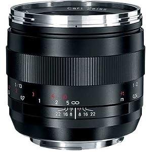 Zeiss 50mm f/2.0 Makro Planar ZE Manual Focus Macro Lens for Canon EOS SLR Cameras