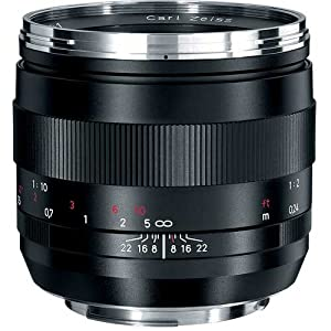 Zeiss 50mm f/2.0 Makro Planar ZE Manual Focus Macro Lens for Canon EOS SLR Cameras