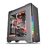Thermaltake Versa C21 RGB7色LED装備 ATXミドルタワーPCケース CS6543 CA-1G8-00M1WN-00