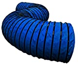 Cool Runners 470GSM PVC Round Dog Agility Tunnel, 8