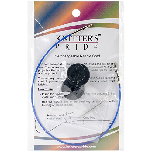 "For Sale! Knitter's Pride Interchangeable Cords, 11"", Blue"