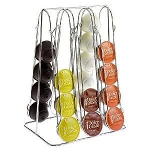 kapselhalter f r 30 dolce gusto kapseln kapselspender. Black Bedroom Furniture Sets. Home Design Ideas