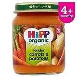 HiPP Organic Tender Carrots & Potatoes 125g