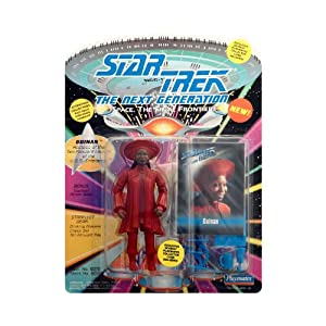Star Trek The Next Generation Guinan Figure With Special Collector Card 1993 From Playmates