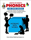 img - for Month-by-Month Phonics for Upper Grades: A Second Chance for Struggling Readers and Students Learning English book / textbook / text book