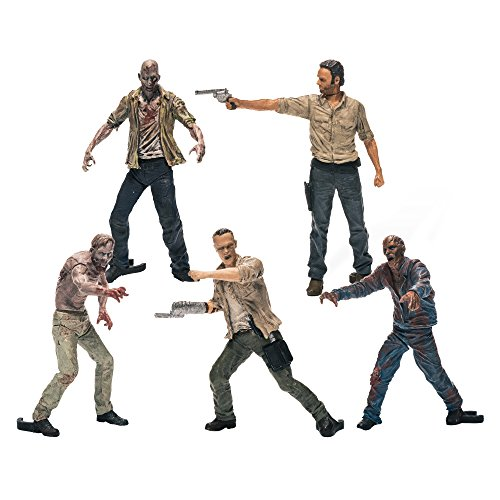 McFarlane Toys Building Sets- The Walking Dead TV Figure Pack 1 - 1