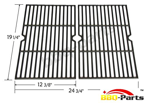 Hongso PCB152 Universal Gas Grill Grate Cast Iron Cooking Grid Replacement, Sold As a Set of 2 (Jenn Air Grate compare prices)