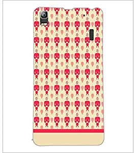 PrintDhaba Pattern D-1901 Back Case Cover for LENOVO A7000 TURBO (Multi-Coloured)