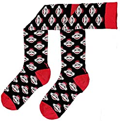 Yo Sox Women's Knee Sock Monkey Business