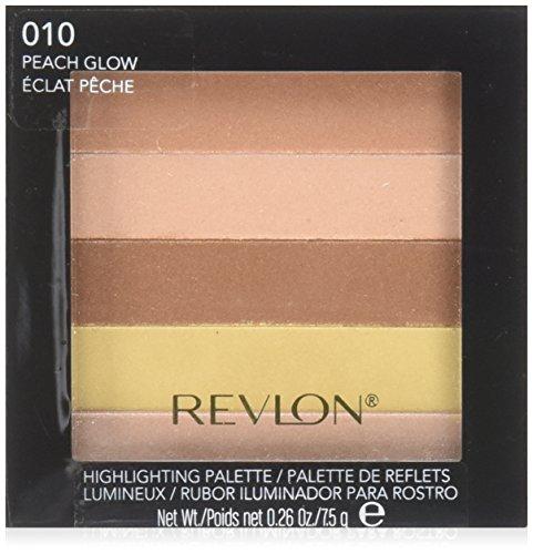 Revlon Highlighting Palette, 010 Peach Glow, 10ml