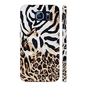 Enthopia Designer Hardshell Case Zebra Meets Cheetah Back Cover for Samsung Galaxy S7