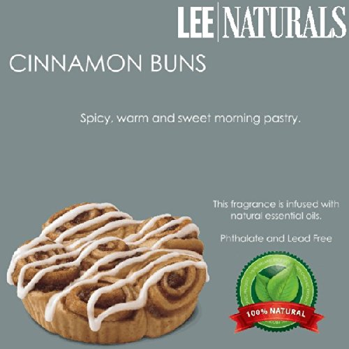 Cinnamon Buns Premium 6-Piece 6.4 Oz Soy Wax Melt Clamshell - 2-Pack Of Naturally Strong Scented Soy Wax Cubes Throw 50+ Hours Of Fragrance When Melted In Scentsy®, Yankee Candle® Or Standard Electric Tart Warmer