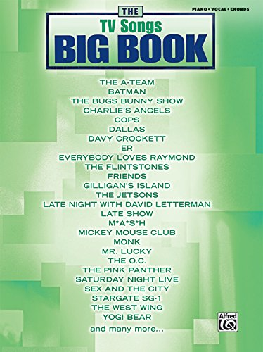 The TV Songs Big Book: Piano/Vocal/chords
