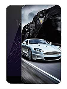 """Aston Speed Racing Printed Designer Mobile Back Cover For """"Google Infocus M2 Note"""" By Humor Gang (3D, Matte Finish, Premium Quality, Protective Snap On Slim Hard Phone Case, Multi Color)"""