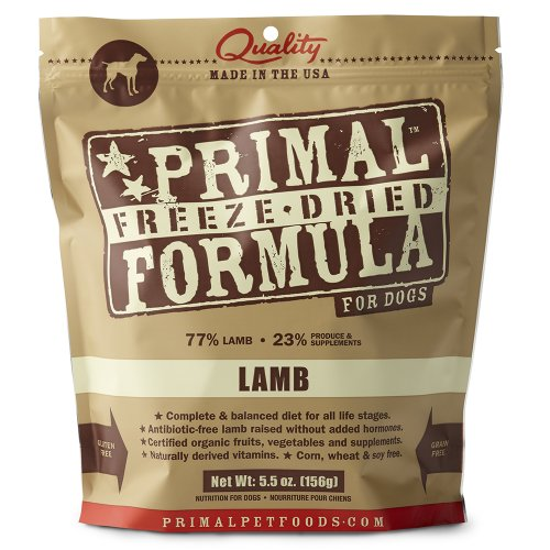 Primal Freeze Dried Lamb Formula For Dogs 5Oz