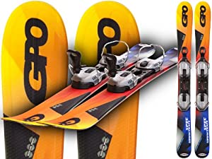"""GPO SnowBlade SnowSkate """"Spec"""" 38.98 inches(99cm) - complete with bindings"""