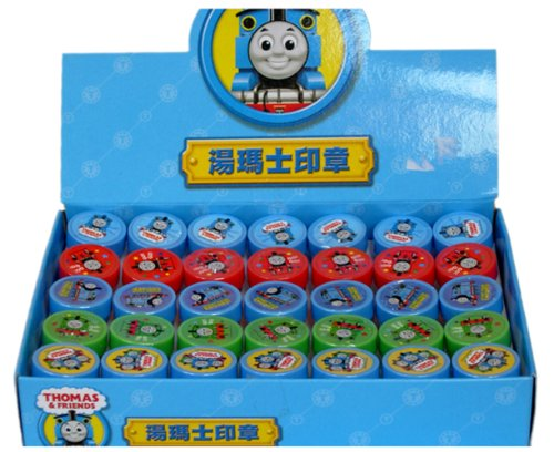 Thomas The Train Stamp Art Set (5 Stamps) front-1032219