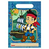 Disney Jake and the Never Land Pirates Treat Bags (8) Party Accessory