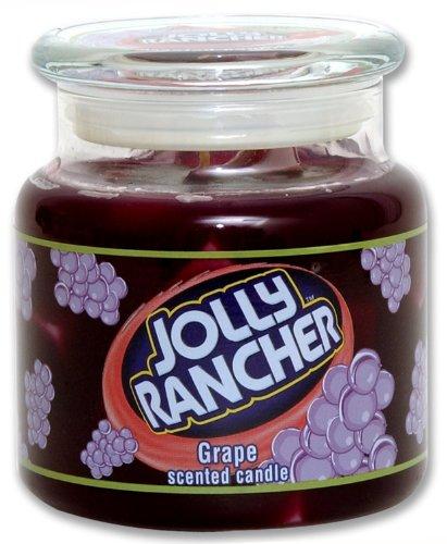 Jolly Rancher by Hanna's Candle 16.75-Ounce Jolly Rancher Grape Jar Candle