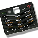Black Arabic Keypad Keyboard Key Keys Brand New for BlackBerry Pearl 3G 9105