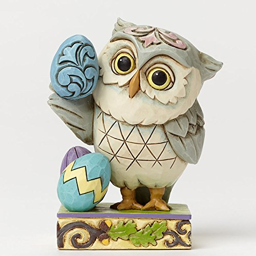 Enesco Jim Shore Heartwood Creek Spring Mini Easter Owl