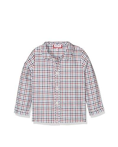 NECK & NECK Camicia Bimbo [Azzurro/Rosso]