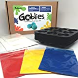 Goblies - Hand Thrown Paintballs (Non-toxic, Bio-degradable, Painless) Do it Yourself Throwable Paintball Kit (Kit makes 108 Paintballs)