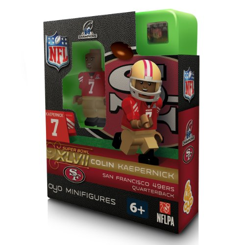 NFL San Francisco 49Ers Colin Kaepernick  NFC Champs OYO Figure at Amazon.com