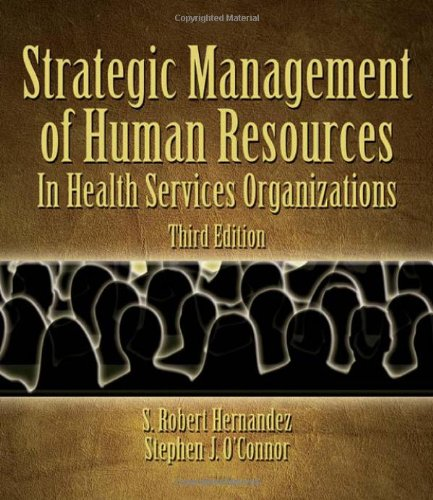 Strategic Human Resources Management in Health Services...
