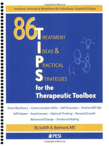 86 TIPS (Treatment Ideas & Practical Strategies) for the Therapeutic Toolbox (Therapeutic Tools compare prices)