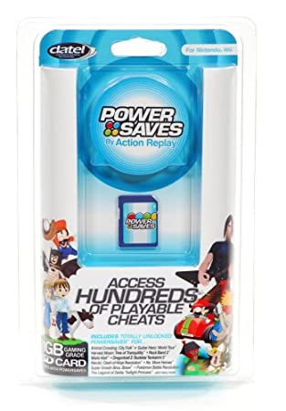 Wii Action Replay Powersaves