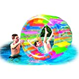 """Water Wheel - Giant Inflatable Swimming Pool Water Wheel Toy (49"""" X 33"""")"""