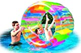 Water Wheel - Giant Inflatable Swimming Pool Water Wheel Toy (49 X 33)
