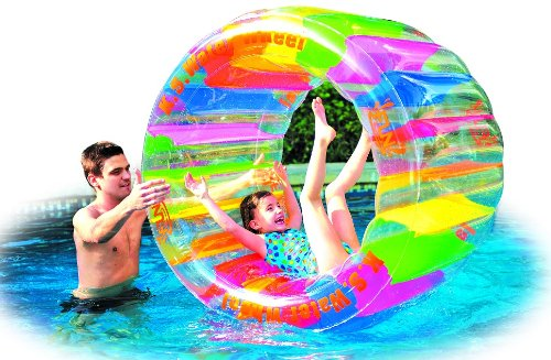 Water Wheel - Giant Inflatable Swimming Pool Water Wheel Toy (49.2