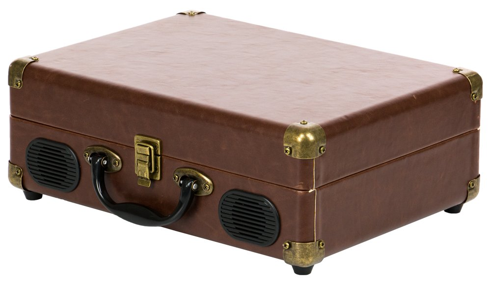 QFX TURN-101 Retro Collection Suitcase Turntable 2