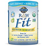 Garden of Life Organic Raw Fit Vanilla 14.8oz (420g) Powder