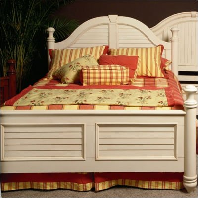 Picture of Wynwood 1655-93X Hadley Pointe Panel Bed in Antique Parchment Size: Twin B00352H0N0 (Wynwood)