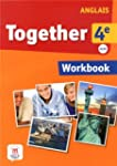 Anglais 4e A2/B1 Together : Workbook