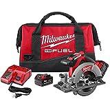 Milwaukee 2730-22 M18 Fuel 6 1/2 Circ Saw 2 Bat Kit (Color: Red)