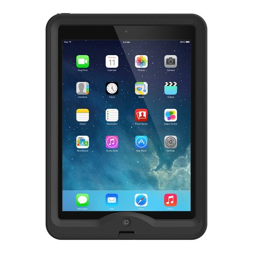 LifeProof NÜÜD iPad Air Waterproof Case - Retail Packaging - BLACK