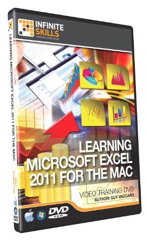 Learning Microsoft Excel 2011 For Mac - Training DVD