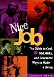 Nice Job!: The Guide to Cool, Odd, Risky, and Gruesome Ways to Make a Living (Lookout Media Series)