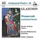 echange, troc  - Glazounov : intégrale des oeuvres pour orchestre, vol.18