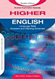 Mary M. Firth English Language Skills for Higher English Marking Schemes: Answer and Marking Schemes (SEM)