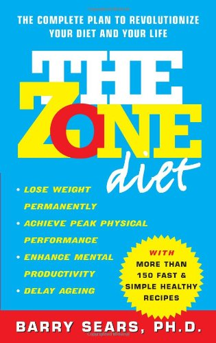Food Book Cover Zone : My experience with the zone diet critical mas