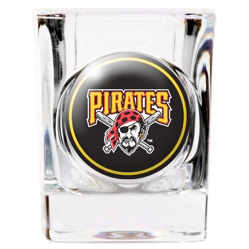 Pittsburgh Pirates Square Shot Glass - 2 oz.