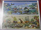 World of Dinosaurs Collectible Stamp Sheet