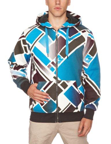 O'Neill Convergance Superfleece Men's Sweatshirt Blue AOP X Small